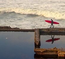 Surfer at Sutro by fuzzywunkle