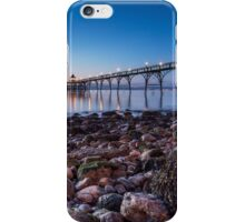 Blue Hour @ the Pier iPhone Case/Skin