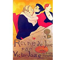 'Rene De Joi' by Toulouse Lautrec (Reproduction) Photographic Print