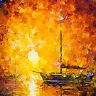 Glows Of Passion — Buy Now Link - www.etsy.com/listing/221667146 by Leonid  Afremov