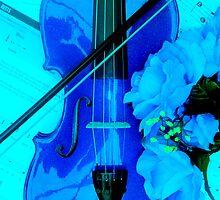 Blue Mood Music by Melissa Park