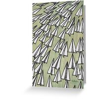 Paper Airplane 88 Greeting Card
