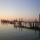 old pier by Peter Cook
