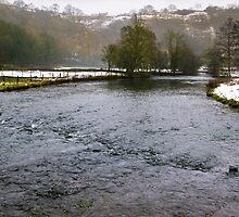 Winter at Monsal Head by John Dunbar