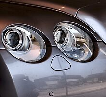 Bentley Continental Headlights by Jazzdenski
