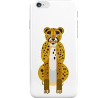Digital Leopard Illustration iPhone Case/Skin