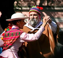 Folk Dancing - Buenos Aires, Argentina by rochelle