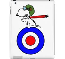 Aviator Snoopy iPad Case/Skin