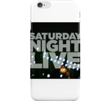 Saturday Night Live Shirt iPhone Case/Skin