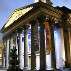 Glasgow's Gallery of Modern Art at night by Matthew Colvin de Valle