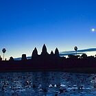 Angkor Wat on Sunrise by Carlton Grooms