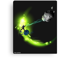 METEOR MAN CLEARS THE WAY Canvas Print