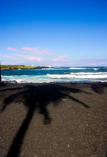 Big Island's Shadow by Carlton Grooms