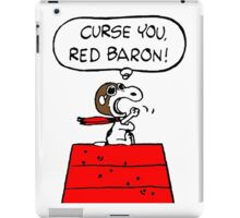 Red Baron Snoopy iPad Case/Skin