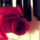 The Music Rose by LeftHandPrints