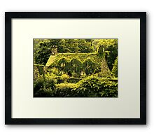 In the green (Llanrwst) Framed Print