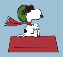 Snoopy aviator by Patritius