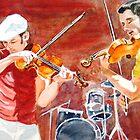 Fiddlers by Karen Ilari