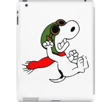 Snoopy versus Red Baron iPad Case/Skin