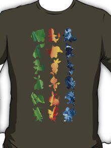 Grass, Fire, Water T-Shirt