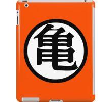 Dragon Ball Z Master Roshi Turtle kanji iPad Case/Skin