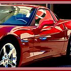 CHERRY RED CORVETTE...........OH YEAH! by davesdigis