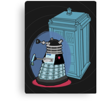 Daleks in Disguise - Second Doctor Canvas Print