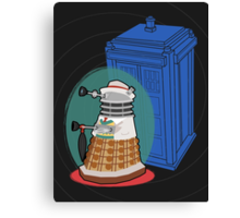 Daleks in Disguise - Seventh Doctor Canvas Print
