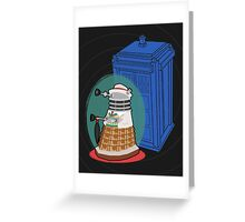 Daleks in Disguise - Seventh Doctor Greeting Card