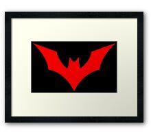 Batman Beyond Logo Framed Print