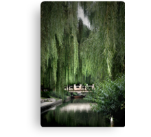 a fine day in August Canvas Print