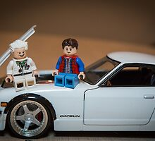 Doc and Marty on a Z by garykaz
