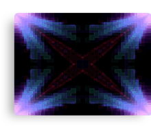 X Factor Fractal Canvas Print