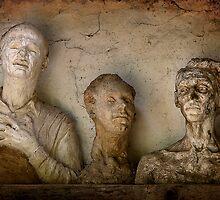 Three wise men by Hans Kawitzki