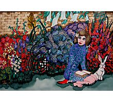 Her Secret Garden: (commissioned work) Photographic Print
