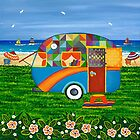 Caravan Holiday ~ Bobby-Ray by Lisa Frances Judd~QuirkyHappyArt