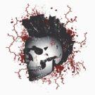 Mohawk Punked Skull by RockHouseCo