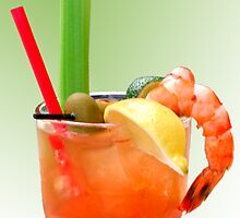Bloody Mary Hand-Crafted by Christine Till  @    CT-Graphics