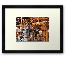 The Golden Age of The Carousel Framed Print