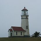 Cape Blanco Lighthouse by Edith Farrell