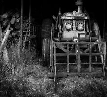 The woodshed by Mike Warman