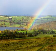 Rainbow over Ullswater by TomGreenPhotos