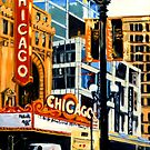 The Chicago Theater by Robert Reeves