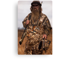 Phil Robertson The Duck Commander Canvas Print