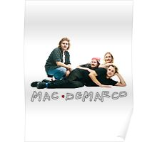Mac Demarco - F.R.I.E.N.D.S Poster