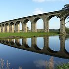 Bridge Over The River Wharfe by acespace