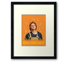 Mac Demarco - Love for his cigarettes!  Framed Print