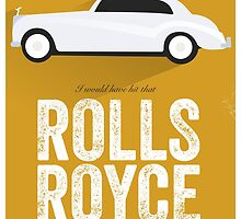 Cinema Obscura Series - Back to the future - Rolls Royce by Geoff Bloom