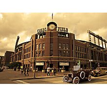 Old Time Coors Field Look Photographic Print