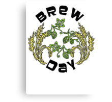 Brew Day Canvas Print